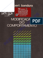 Bandura, A. (1979). Modificação Do Comportamento