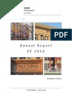 CPS Inspector General 2016 Report