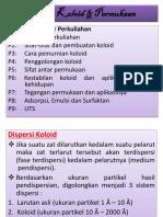 ppt Kimia Koloid