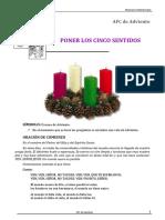 AFC_Adviento-Poner Los Cinco Sentidos