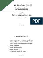ELETRONICA DIGITAL I - CHAVES EM CIRCUITOS LOGICOS.pdf