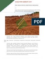 Stabilitas Timbunan Tanah Proyek Konstruksi Bangunan