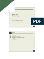 MECH2410_Lecture 7 Shaft Design