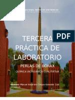 Tercer Informe de Laboratorio de Inorgánica