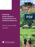 Achieving Health Equity in Contested Corner of Southeast Myanmar ENG