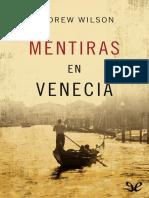 Mentiras en Venecia - Andrew Wilson