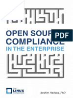 Open Source Compliance in the Enterprise 2016
