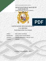 Hist. Perú Colonial - Dennis Vargas Vega