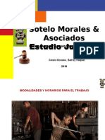 Modalidades y Horarios Para El Trabajo del Niño y Adolescente