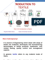 Lec 7-9 Introduction to Textile Engineering