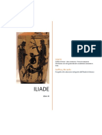 ILIADE di Omero - Libro undecimo - Prove di traduzione interlineare con note grammaticali e vocabolario essenziale in linea