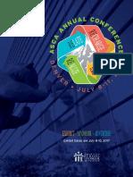 ASCA 2017 Denver Exhibitor Sponsor Brochure