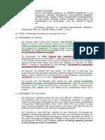 9. Estrada vs. Desierto Suspension of Further Proceedings