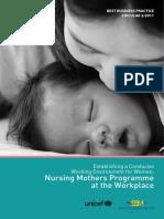 Unicef BBPC Nursing Mothers Program at Workplace Malaysia