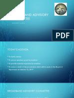 Fauquier Broadband Advisory Committee Report 12 14 16