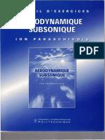 Aerodynamique Subsonique Recueil d'Exercices