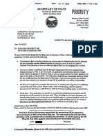 Roediger Articles of Dissolution- Approved_Redacted