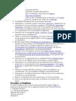 Funciones de La Policía Nacional Del Perú