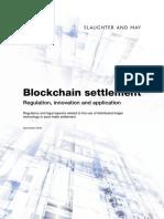 Ma3880 Blockchain s&m 9nov2016 Euroclear
