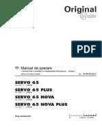 Manual Operare Servo 65