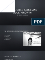 verbal child abuse and  adult growth