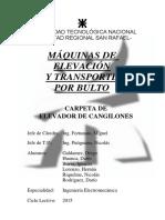 2015 - Elevador de Cangilones