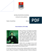 Franz Schubert y Hector Berlioz
