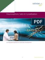 Polymorphism, Salts Amp Crystallization