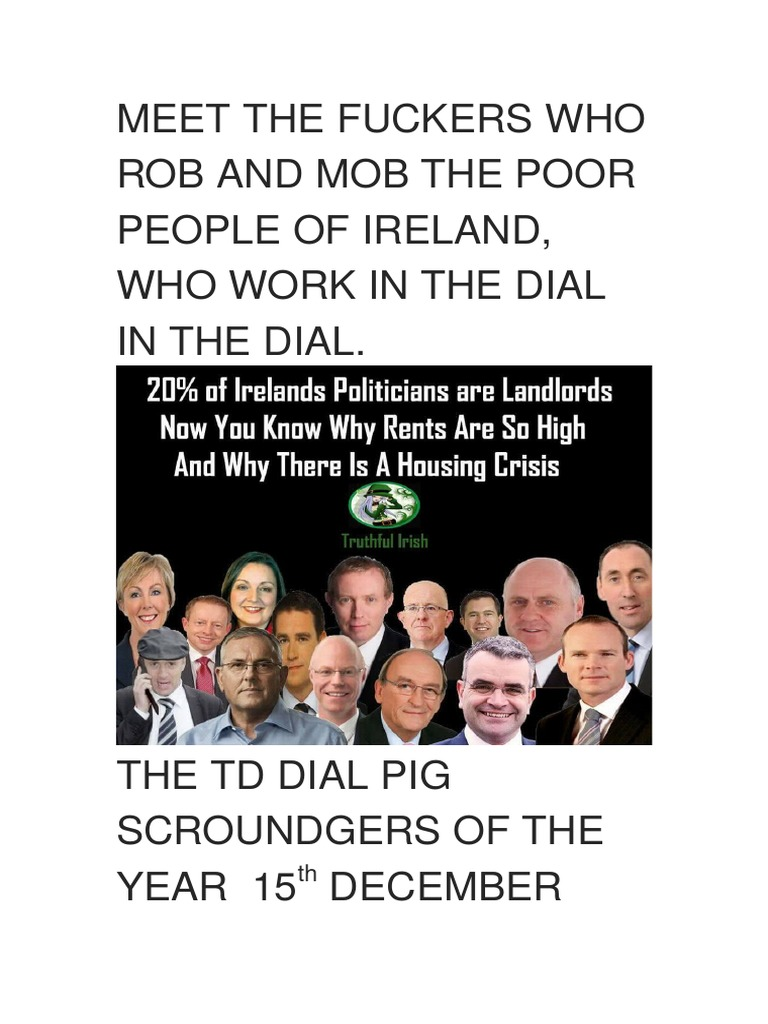 Meet the fuckers who rob and mob the poor people of ireland and the meet the fuckers who rob and mob the poor people of ireland and the homeless the curse of god go on them all leasehold estate landlord malvernweather Images