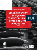 Standardisation and Quality Control in Islamic State's Military Production
