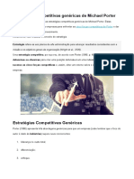 Estratégias Competitivas Genéricas de Michael Porter