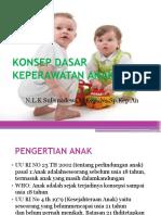 Konsep Dasar Keperawatan Anak