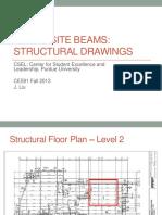 Column beam details