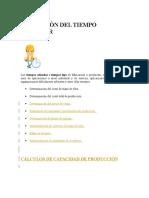 APLICACIÓN DEL TIEMPO ESTÁNDAR.docx