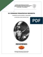 Cuadernillo Jornada Medinista