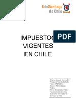 Impuestos Vigentes en Chile