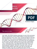 Murder Mystery DNA Sequencing