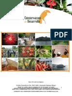 Curriculum Conservacion y Desarrollo 2016 Premios