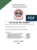 LAS ISLAS ARTIFICIALES EN EL MUNDO