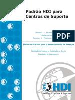 Padrão HDI Para Centros de Suporte