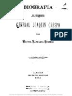 Biografia Joaquin Crespo