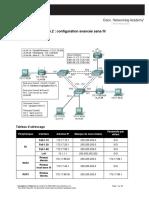 Lab 7.5.2 Configuration Avancée Sans Fil (Linksys WRT300N)