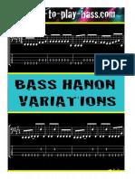Bass Hanon Variations (OK)