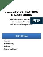 Projeto de Teatros e Auditórios-2015-2