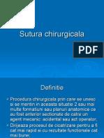 3 SUTURA CHIRURGICALA