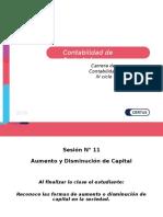PPT - Contabilidad de Sociedades SESION AUMENTO Y DISMINUCION DE CAPITAL1.ppt