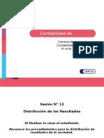 PPT - Contabilidad de Sociedades SESION DISTRIBUCIÓN DE RESULTADOS.ppt