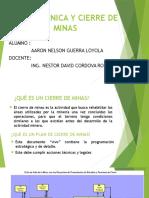 Geomecanica y Cierre de Minas Expo