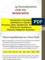 Chbe 346 Lecture 23 Review