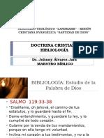 Seminario Bíblico - Bibliología i